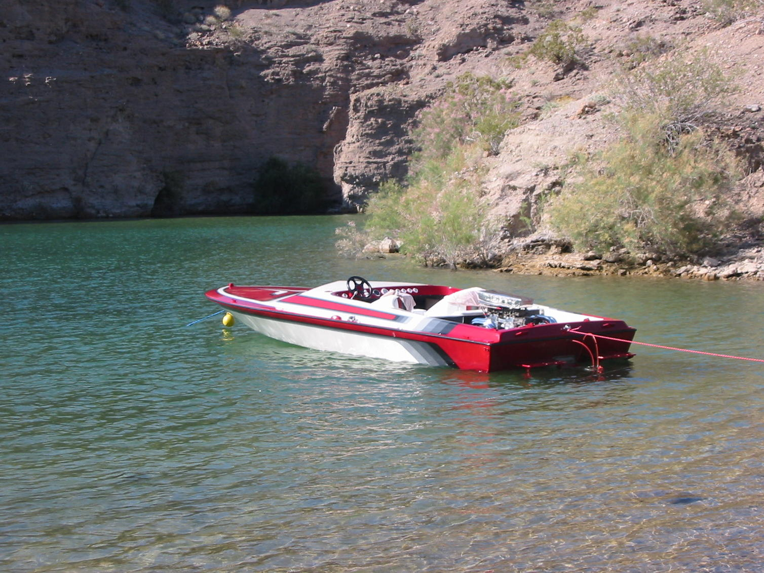 Click image for larger version.  Name:2004-10-28  bahner lake Mohave.jpg Views:359 Size:300.4 KB ID:66106