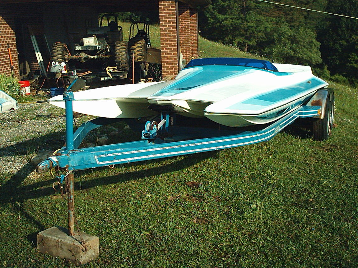 Click image for larger version.  Name:Blue 21 ft Scorpion jet boat 002.jpg Views:554 Size:284.3 KB ID:81871