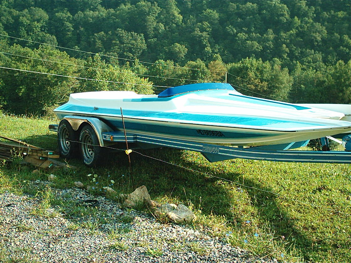 Click image for larger version.  Name:Blue 21 ft Scorpion jet boat 004.jpg Views:470 Size:289.2 KB ID:81872