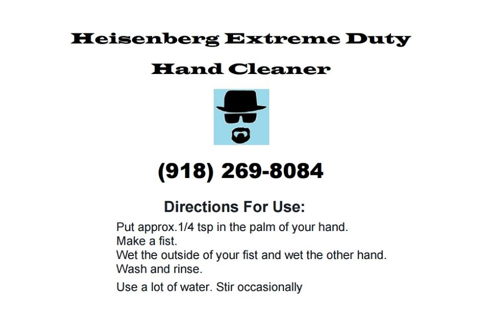 Click image for larger version.  Name:Heisenberg Business Card.jpg Views:6289 Size:36.7 KB ID:930713