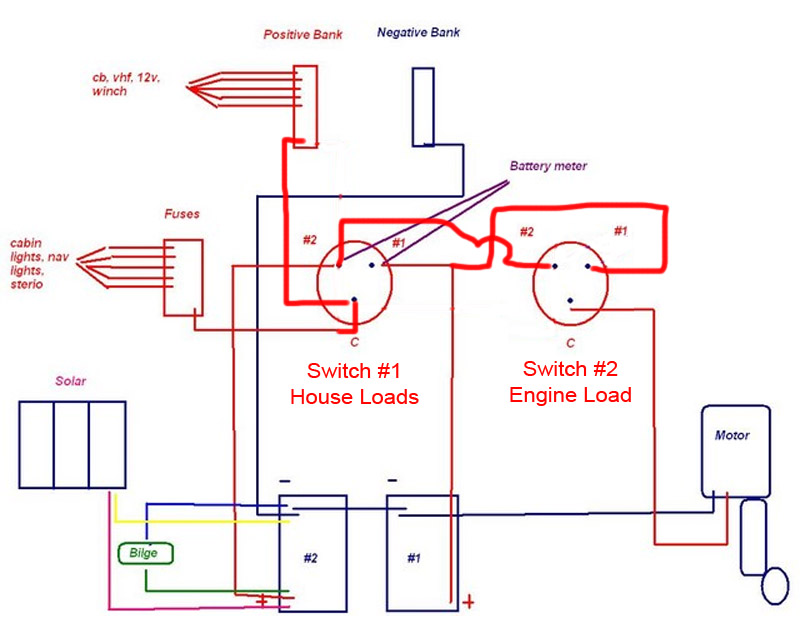 Dual 12 Volt Battery Wiring Diagram together with Ship Shape Diagram furthermore 330155 Wiring Battery Switch also Razor E325 Scooter Parts together with 7. on guest battery switch wiring diagram