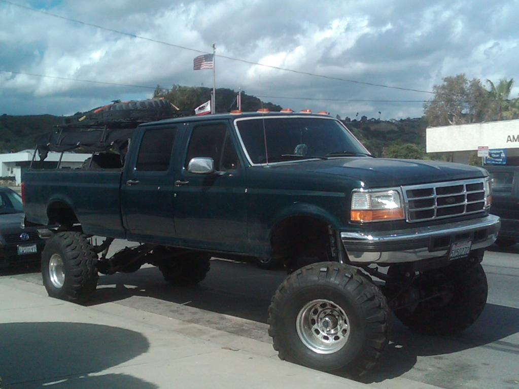 1995 Ford F-350 Lifted