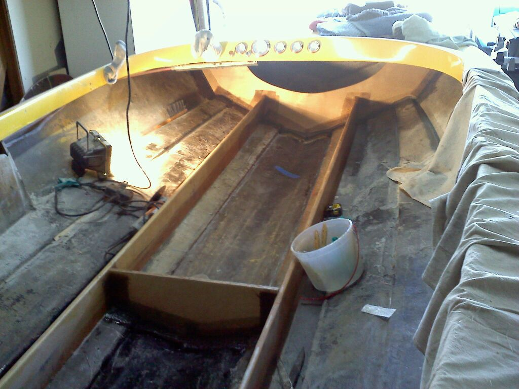 Click image for larger version.  Name:miller project new bulk heads in boat.jpg Views:94 Size:115.2 KB ID:89993