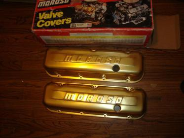 Click image for larger version.  Name:Moroso BBC gold valve covers.jpg Views:22 Size:17.0 KB ID:938986